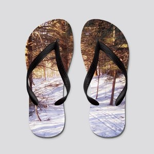 In to the woods Flip Flops